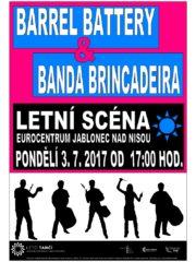 Koncert Barrel Battery, Banda Brincadeira a Om Dance Academy